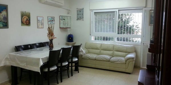 Living Room | Garden Apartment on Nachal HaBasor