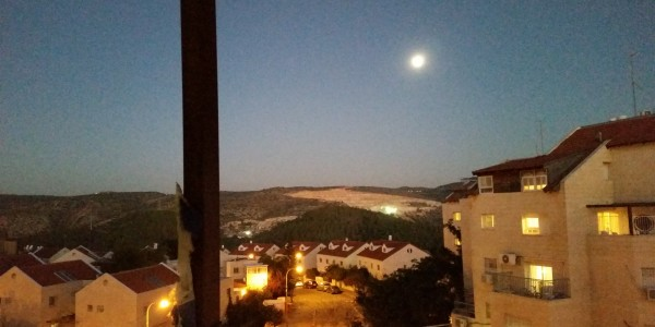 View from Sukka Porch | Apartment on Nachal Dolev